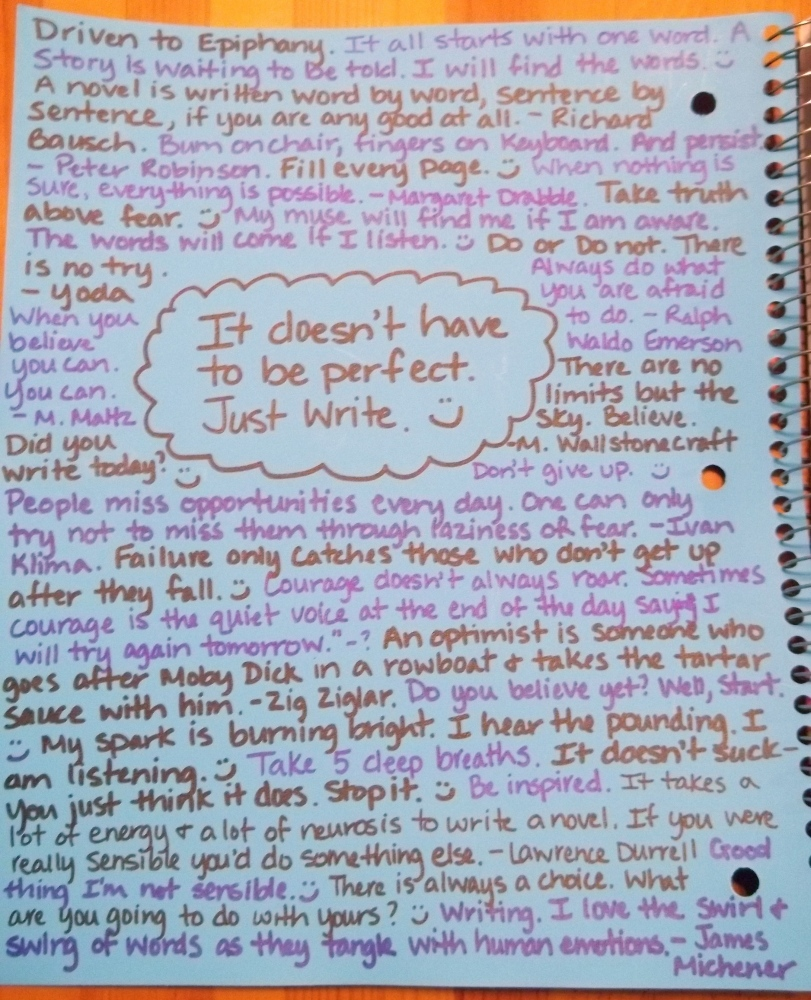 The Notebook That Built My Novel (4/4)