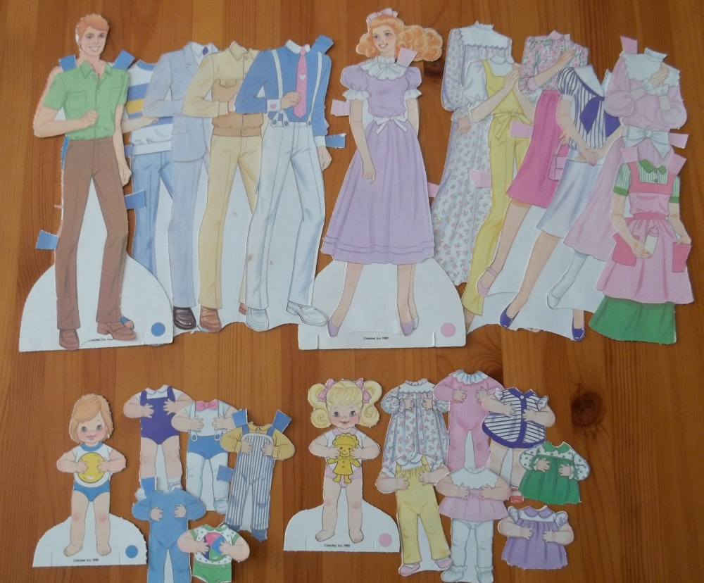 Paper Dolls Are Partially At Fault (1/4)