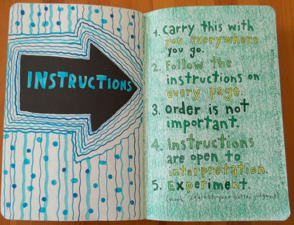 Wreck This Journal: Letting Go (2/3)