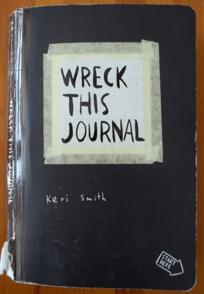 Wreck This Journal: Letting Go (1/3)