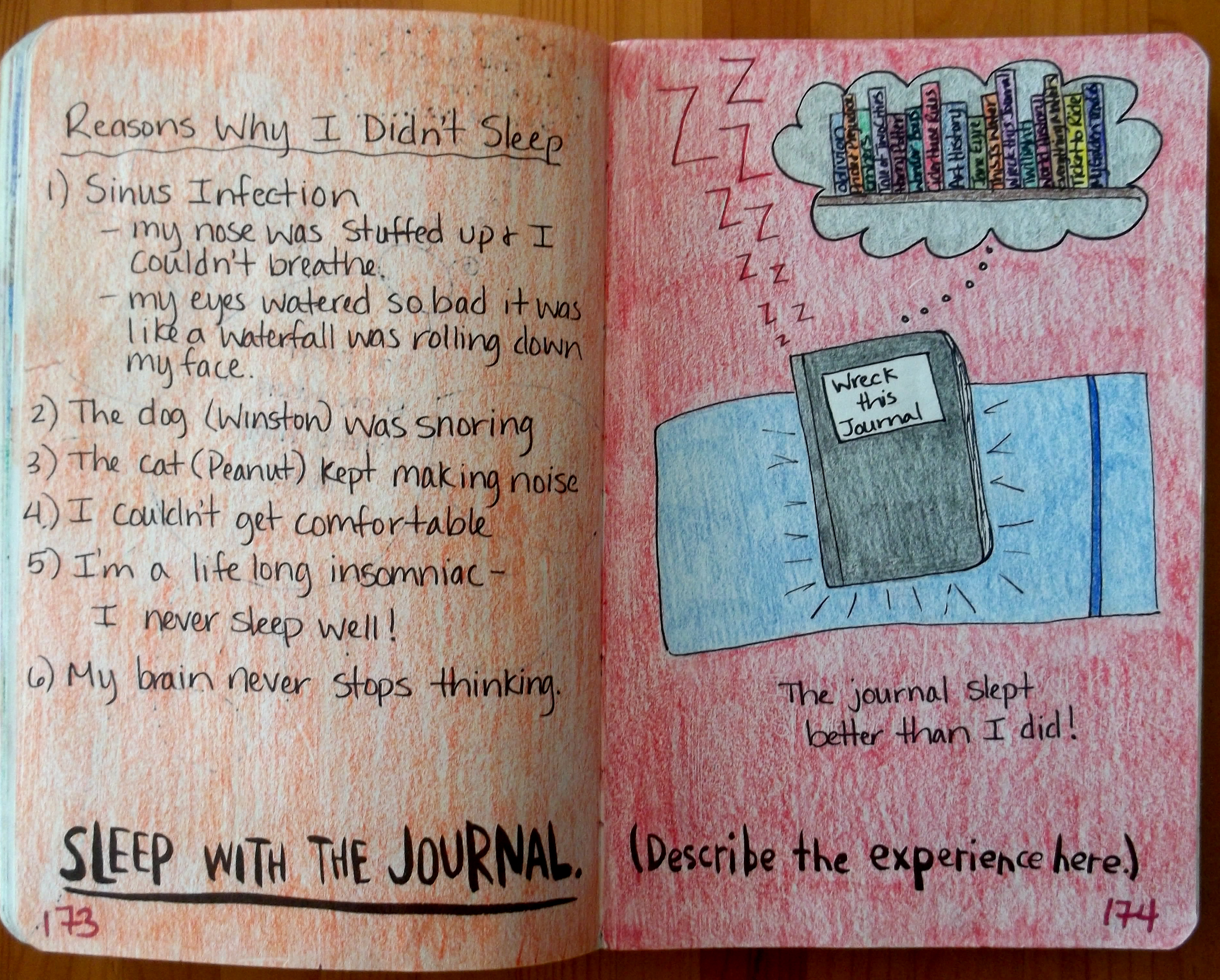 Wreck This Journal Page 8 C B Wentworth