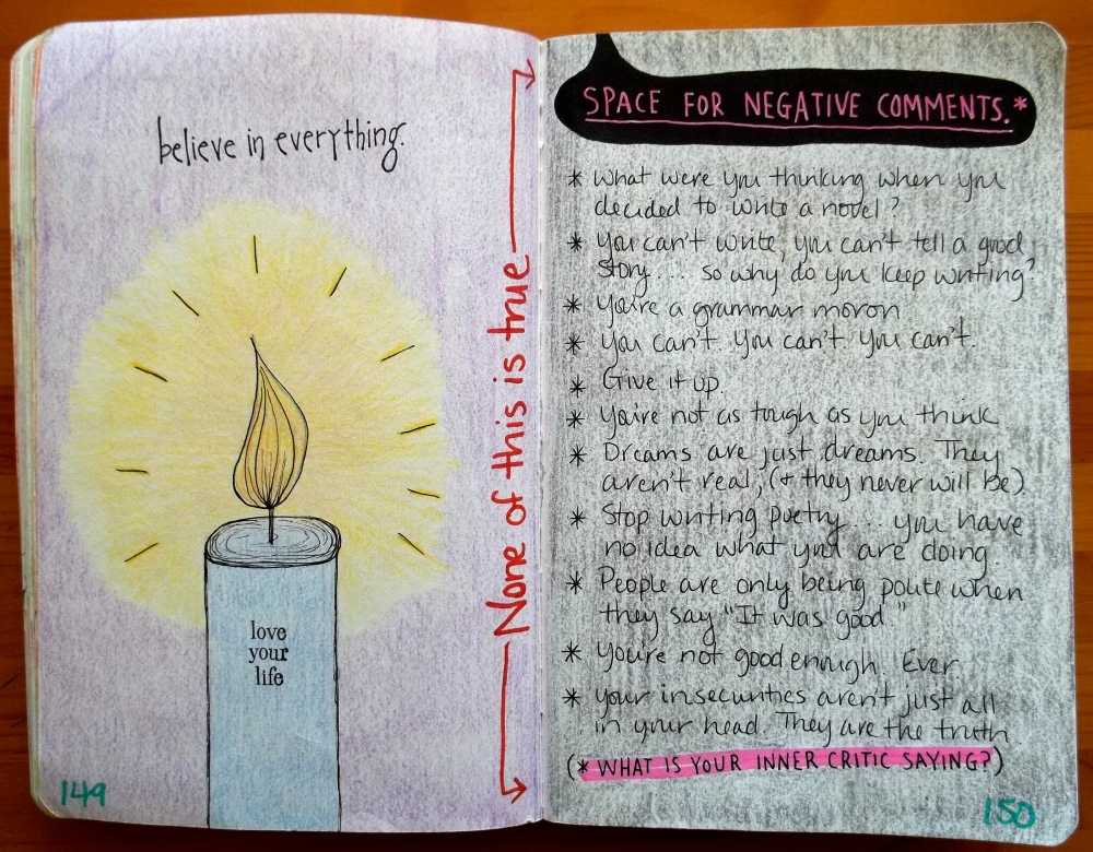Wreck This Journal: Inner Critic