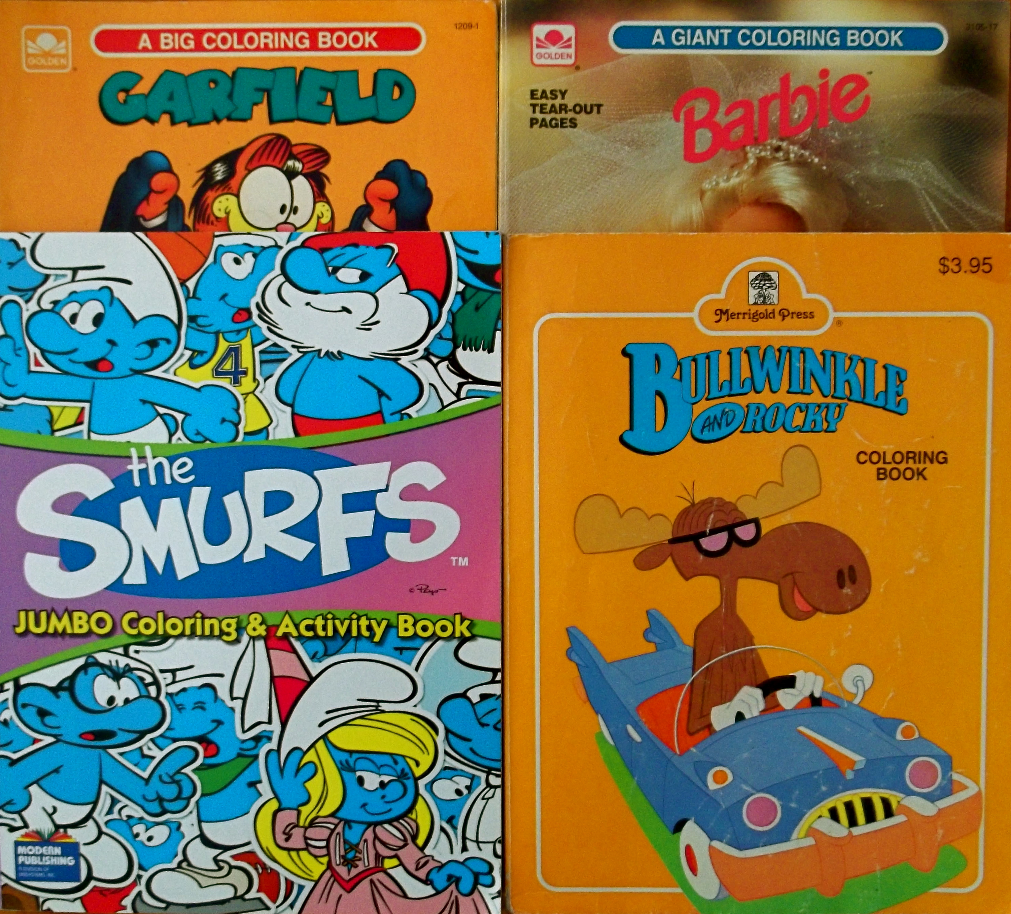 garfield - Big Coloring Books