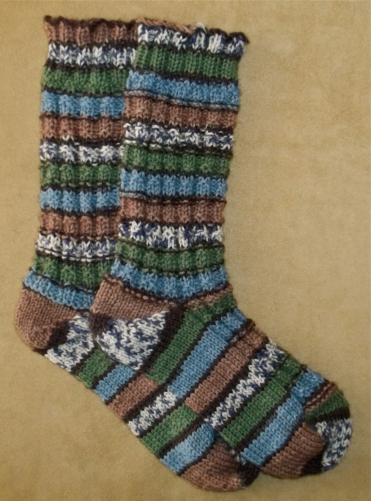 I Made Socks And You Can, Too! (4/5)