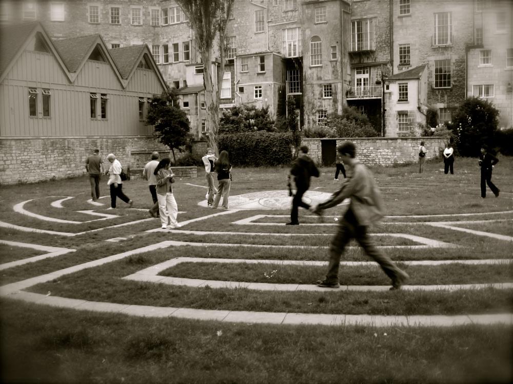 Sunday Abroad: Somerset Maze