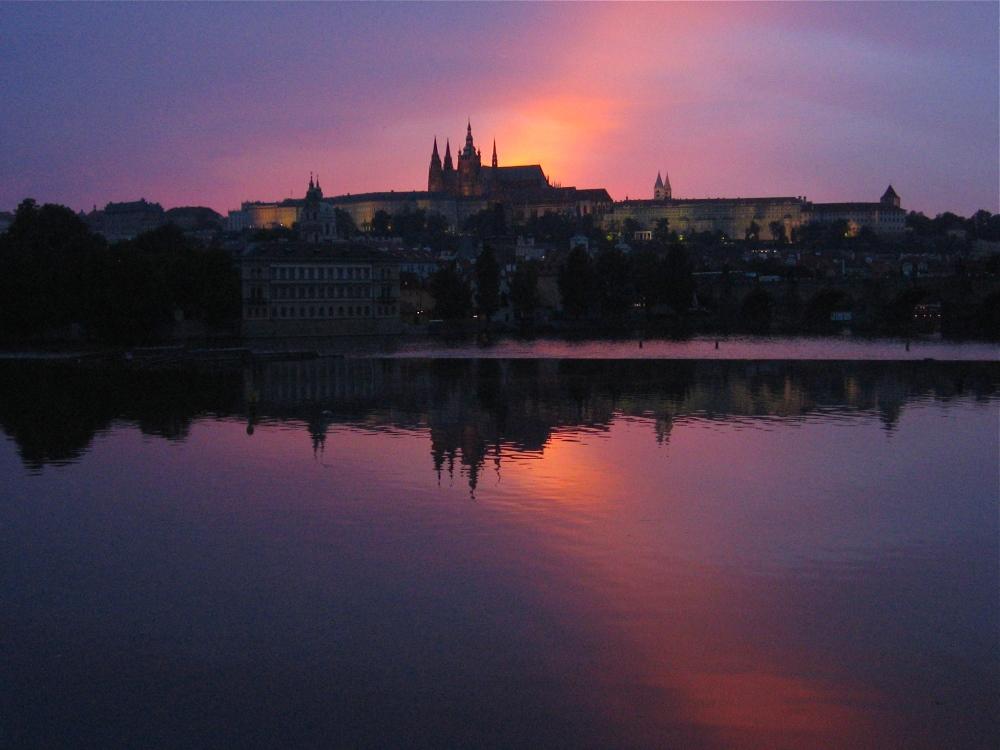 Sunday Abroad: Prague at Sunset