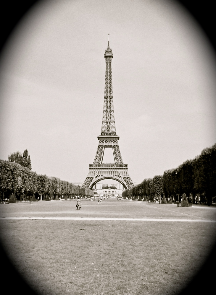 Standing Tall in Paris