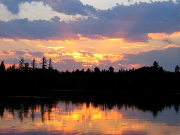 Little Gibson Lake, Near Boulder Junction Wisconsin. It's one of my Grandma's favorite places. Photo by: c.b.w. 2005