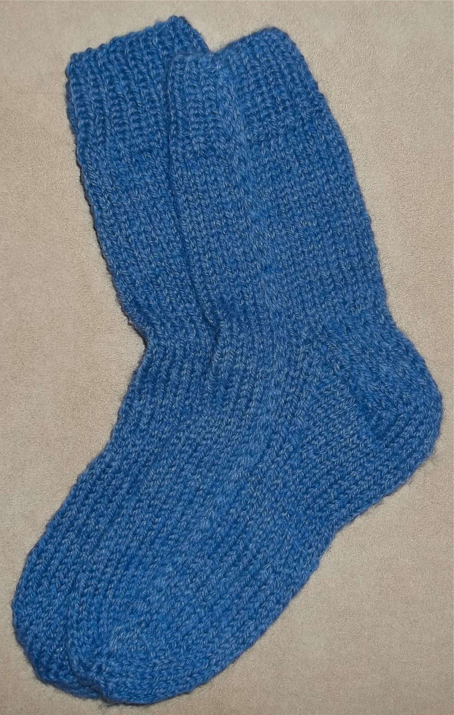straight needle socks   C.B. Wentworth