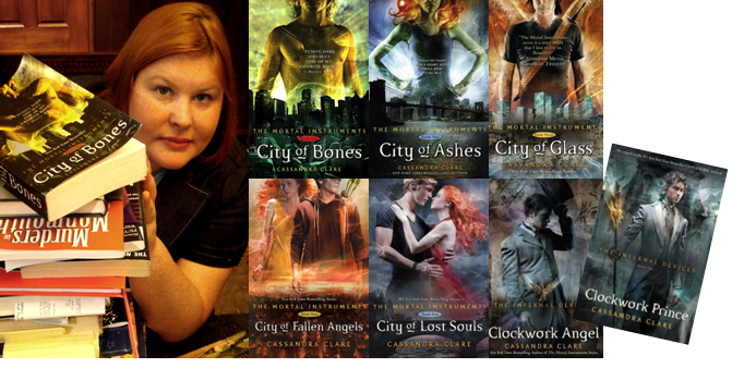Cassandra Clare Books The Mortal Instrumenst The Infernal Devices
