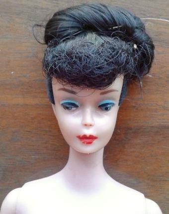 Ponytail 5 Barbie Head